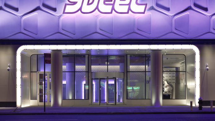 Exterior view YOTEL NEW YORK
