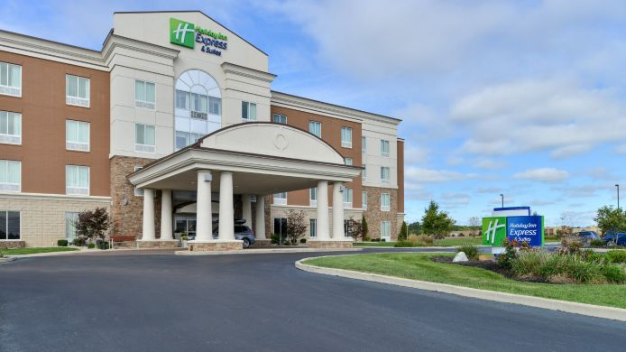 Exterior view Holiday Inn Express & Suites TERRE HAUTE