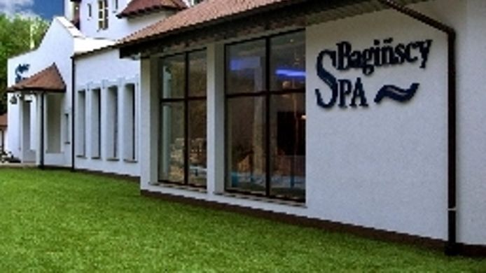 Exterior view Bagińscy Spa