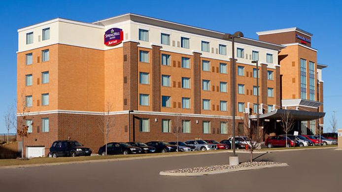Exterior view SpringHill Suites Minneapolis-St. Paul Airport/Mall of America