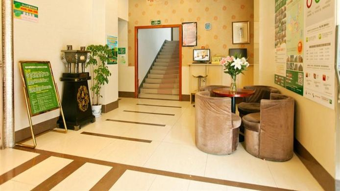 Hotelhalle Green Tree Inn Olympic sports center Domestic only