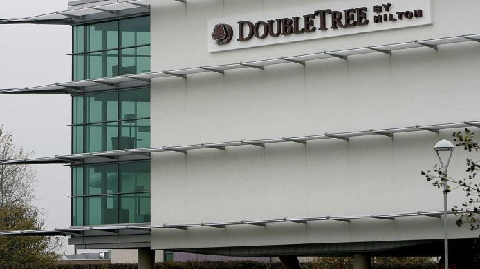 Exterior view DoubleTree by Hilton Hotel Newcastle International Airport