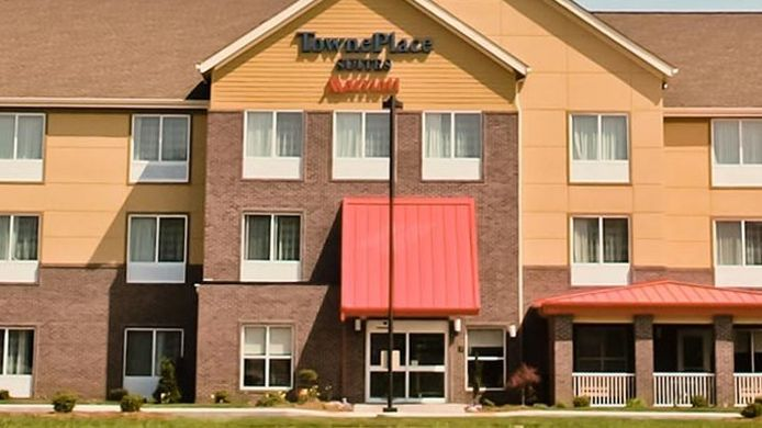Exterior view TownePlace Suites Vincennes
