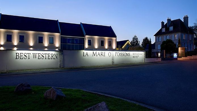Exterior view Best Western La Mare O Poissons