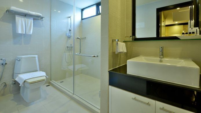 Bathroom Abloom Exclusive Serviced Apartment
