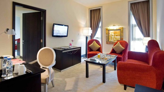 Room Mercure Gold Hotel Al Mina Road Dubai