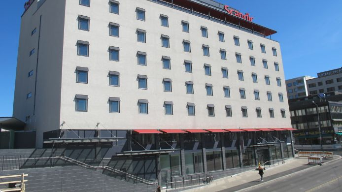 Exterior view SCANDIC TAMPERE STATION