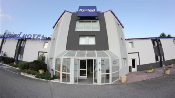 Exterior view Kyriad Chambery Sud – La Ravoire