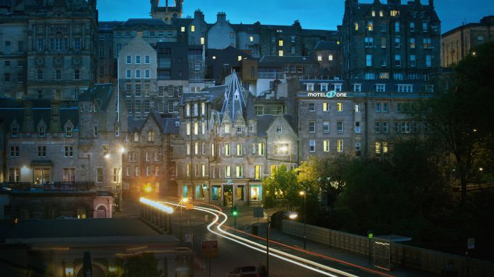 Exterior view Motel One Edinburgh-Royal