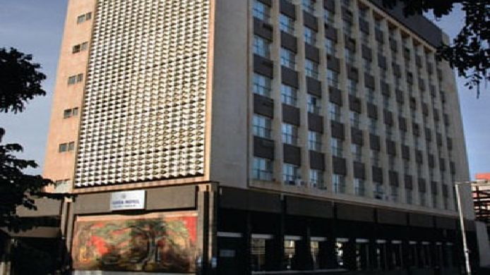 Exterior view Protea Hotel Lusaka Cairo Road