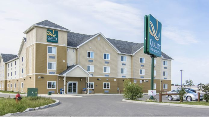 Exterior view Suburban Extended Stay Hotel Thompson