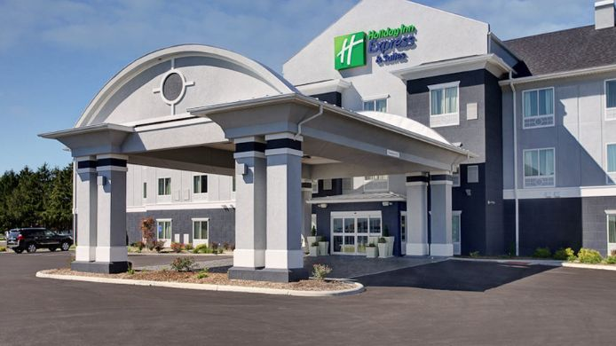 Exterior view Holiday Inn Express & Suites NORTH FREMONT
