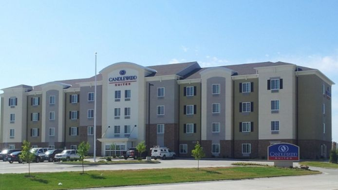 Exterior view Candlewood Suites ST. JOSEPH