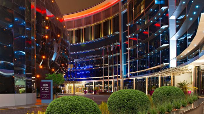 Buitenaanzicht Crowne Plaza DOHA - THE BUSINESS PARK