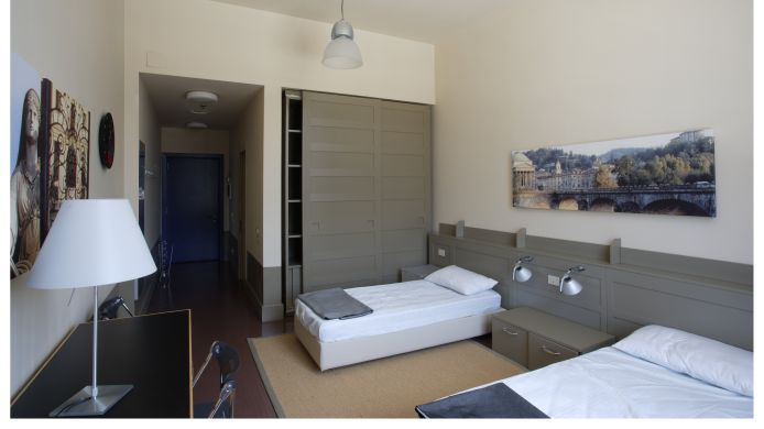 Double room (standard) Camplus Lingotto