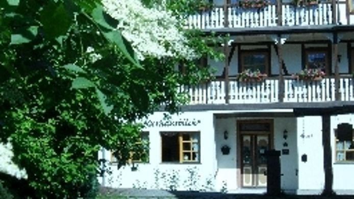 Exterior view Pension Kurhausblick