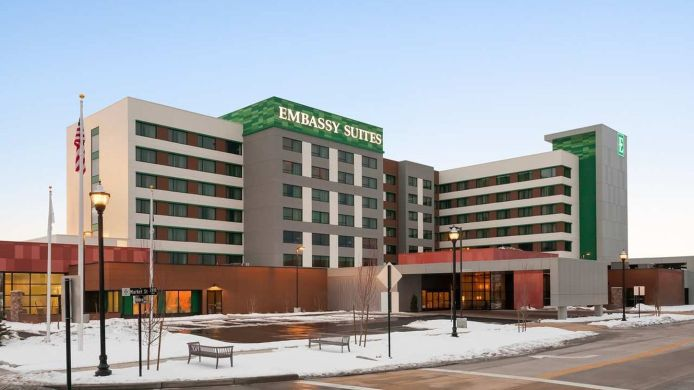 Buitenaanzicht Embassy Suites by Hilton Salt Lake West Valley City