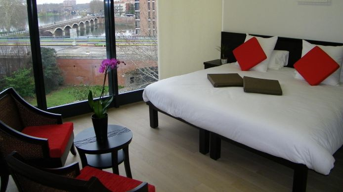 Double room (superior) Pier Toulouse Hôtel