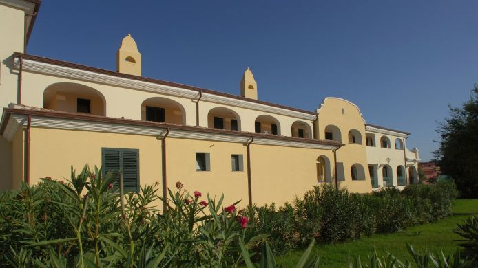 Exterior view Cala Liberotto Hotel Residence