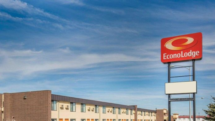 Exterior view Econo Lodge Billings
