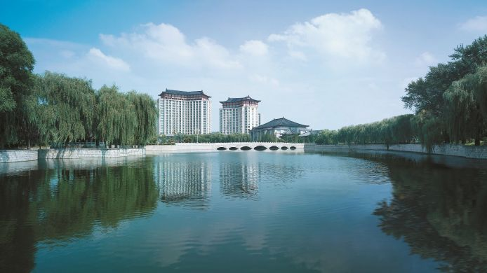 Exterior view The Shangri-La Hotel Qufu