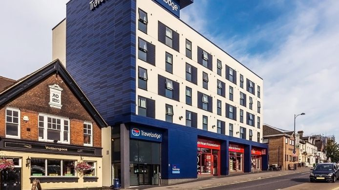 Buitenaanzicht TRAVELODGE EASTLEIGH CENTRAL