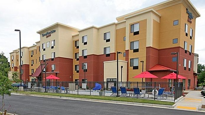 Buitenaanzicht TownePlace Suites Aiken Whiskey Road