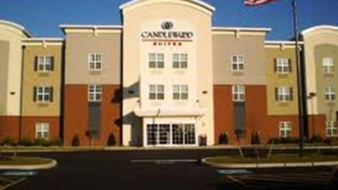 Exterior view Candlewood Suites LOGAN