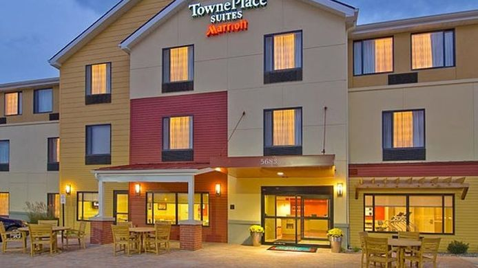 Exterior view TownePlace Suites Vernal