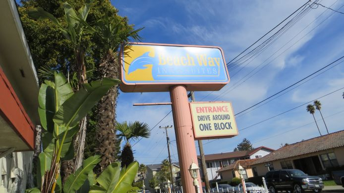 Buitenaanzicht Surf City Inn & Suites