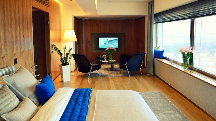 Apartment One Room Hotel - TV TOWER Tower Park Praha