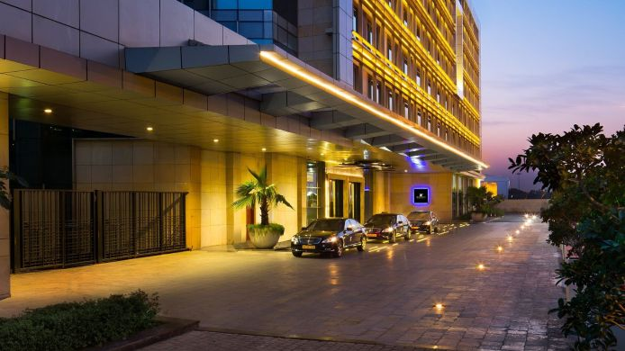 Exterior view JW Marriott Hotel New Delhi Aerocity