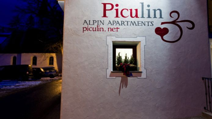 Exterior view Alpin Apartments Piculin
