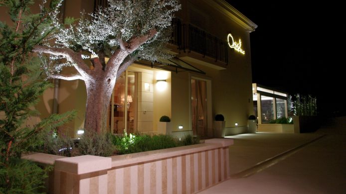Exterior view Boutique hotel Oasi