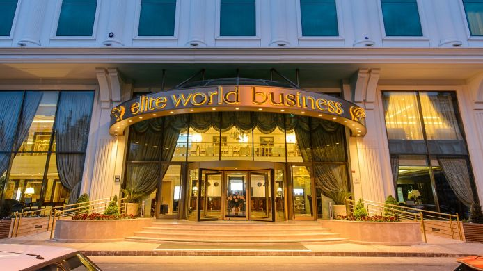 Exterior view Elite World Business