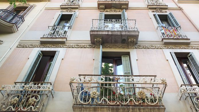 Buitenaanzicht Retrome Barcelona Bed & Breakfast