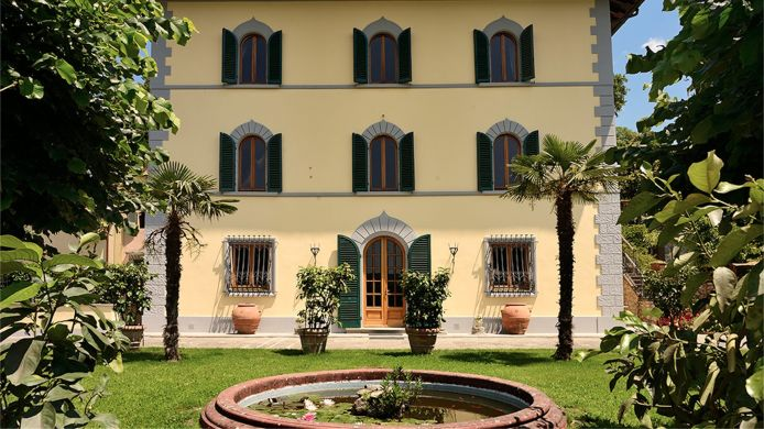 Exterior view Villa Parri Historic Charming Residence in Tuscany