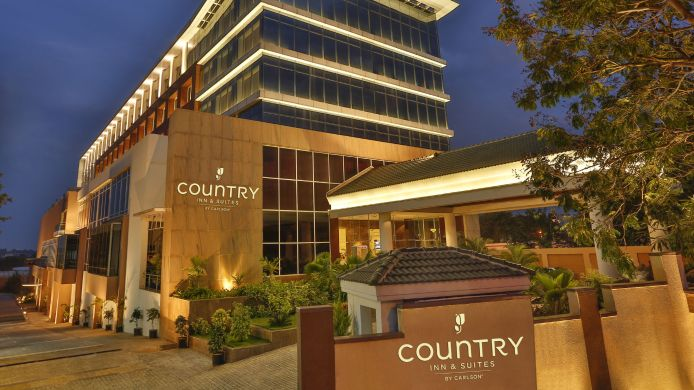 Exterior view COUNTRY INN SUITES MYSORE