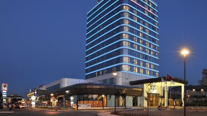 Exterior view OMMER HOTEL KAYSERI