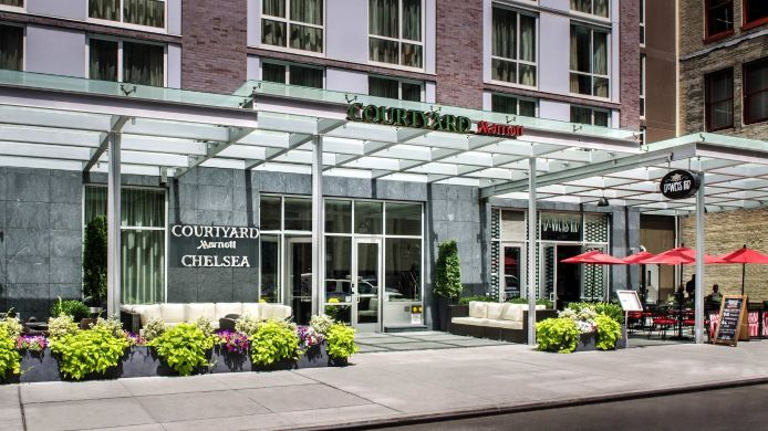 Exterior view Courtyard New York Manhattan/Chelsea