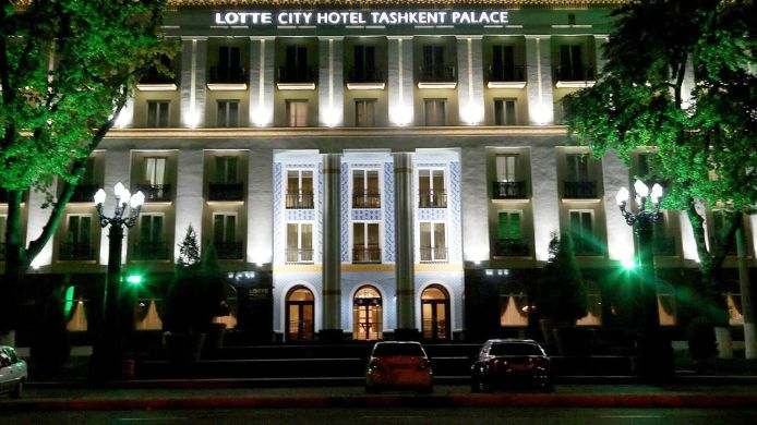 Exterior view Lotte City Hotel Tashkent Palace