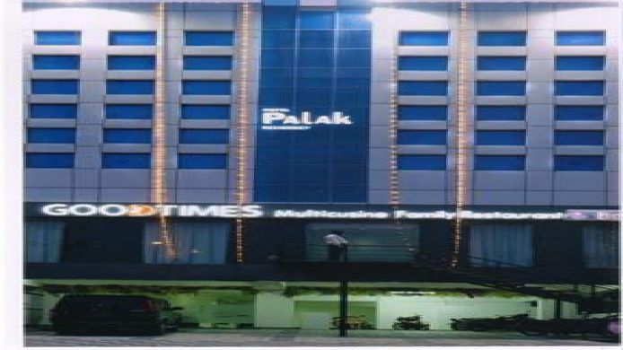 Exterior view Hotel Palak Residency