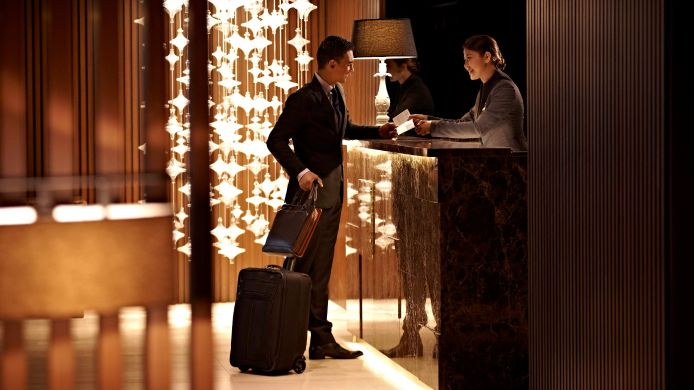 Reception Pan Pacific Serviced Suites Beach Road