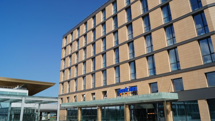 Exterior view Park Inn by Radisson Pulkovo Airport St. Petersburg