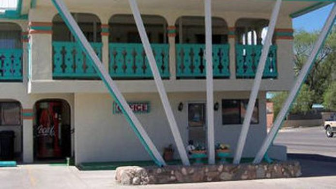 Exterior view KNIGHTS INN LAS VEGAS NM