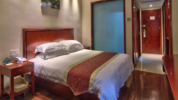 Single room (standard) Green Tree Inn Ningbo Railway Station Xingning Road Seagull Business