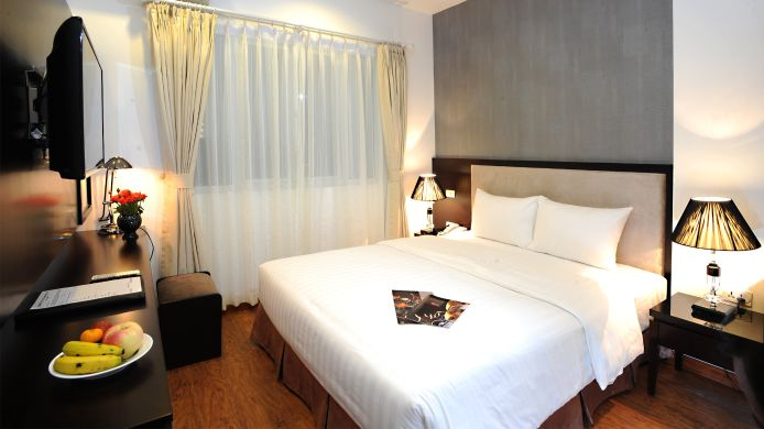 Single room (superior) Hanoi Legacy Bat Su