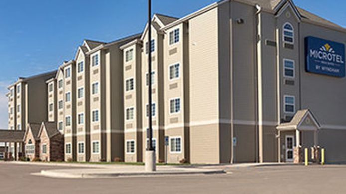 Buitenaanzicht Microtel Inn And Suites Minot