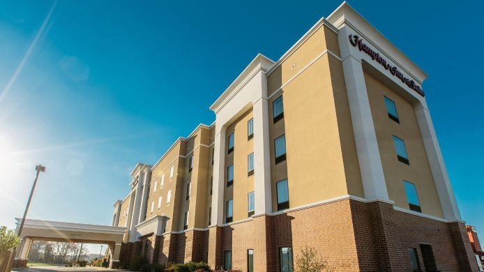 Exterior view Hampton Inn - Suites Effingham IL