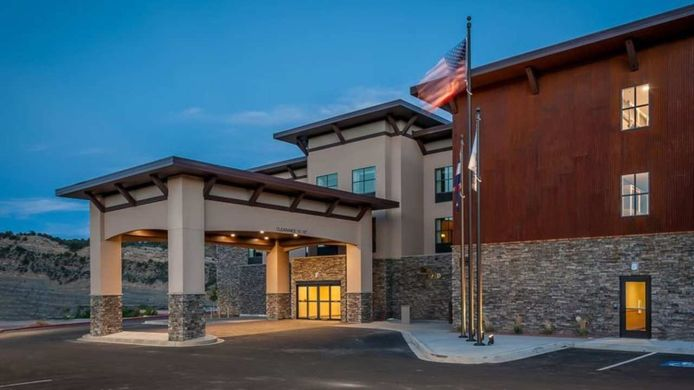 Exterior view Homewood Suites by Hilton Durango CO